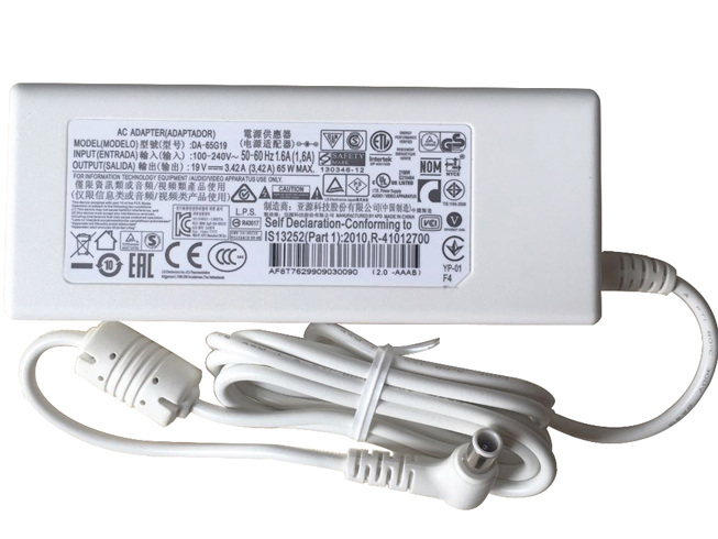 Chargeur ordinateur portable PA-1650-64