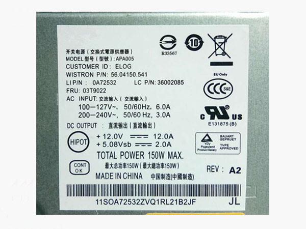 PC Alimentation HKF1502-3B