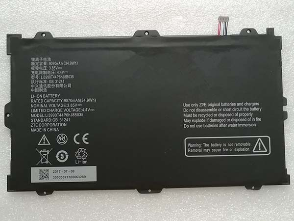 Batterie interne tablette Li3990T44P6hJ8B035