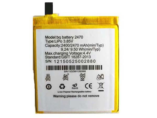 Batterie interne smartphone 2470