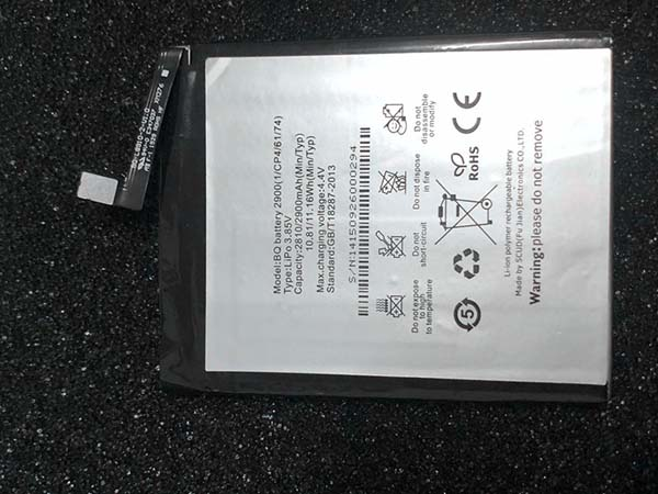 Batterie interne smartphone 2900