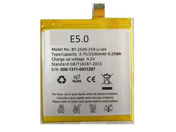 Batterie interne smartphone E5.0