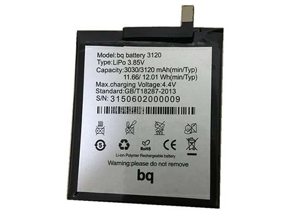 Batterie interne smartphone 3120