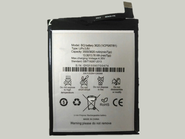Batterie interne smartphone 3620