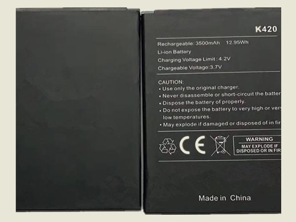 Batterie interne smartphone K420