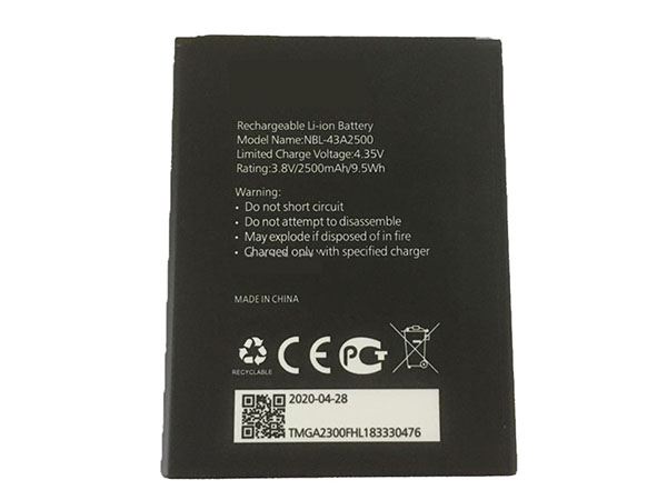 Batterie interne smartphone NBL-43A2500