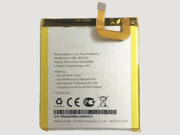Batterie interne smartphone nbl-38a2250