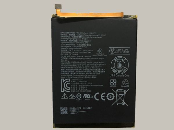Batterie interne tablette l18d1p33