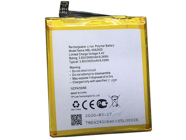 Batterie interne smartphone NBL-40A2400