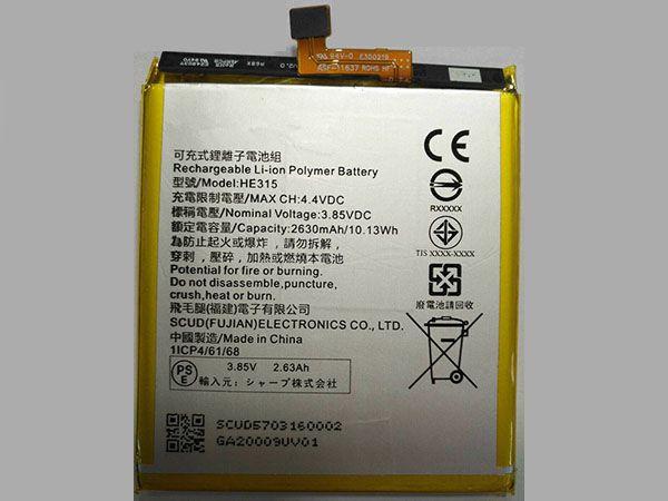 Batterie HE315