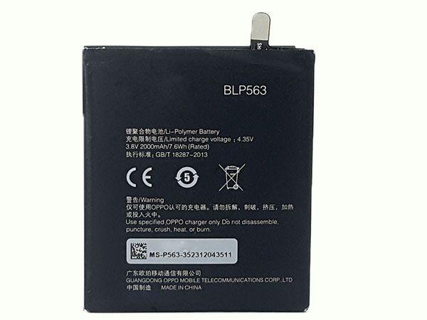 Batterie interne smartphone BLP563