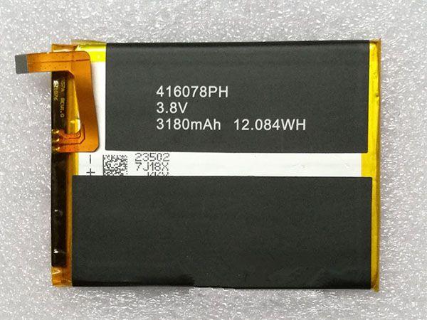 Batterie interne smartphone 416078PH