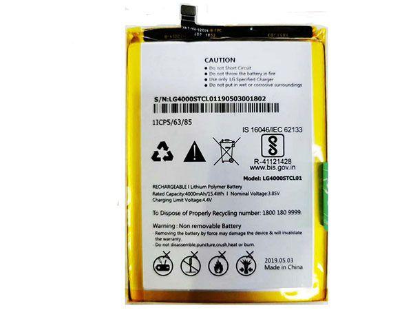 Batterie interne smartphone LG4000STCL01