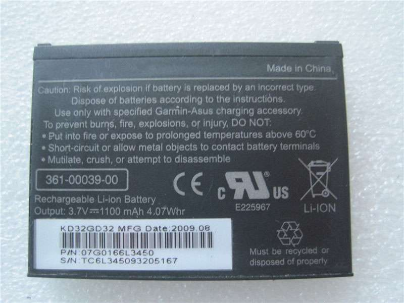 Batterie interne 361-00039-00