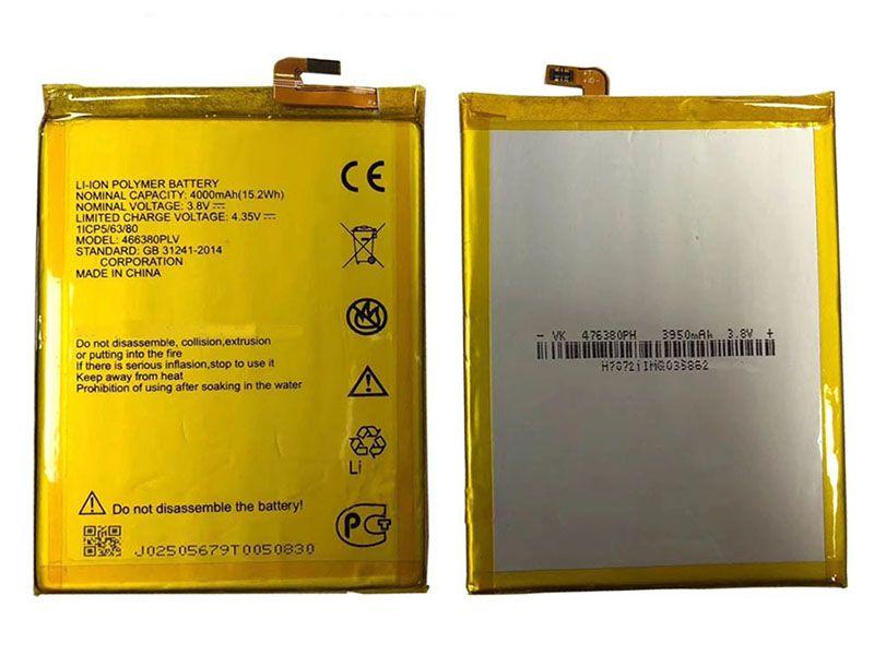 Batterie interne smartphone 466380PLV