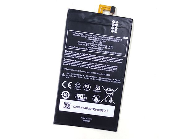 Batterie interne tablette 58-000124