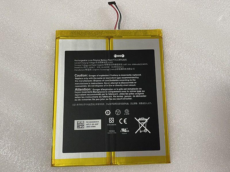 Batterie interne tablette 58-000280