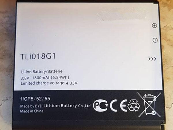 Batterie interne smartphone TLI018G1