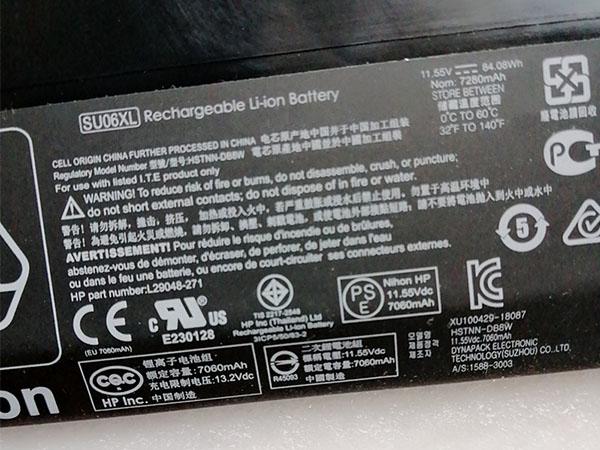 HP SU06XL HSTNN-DB8W