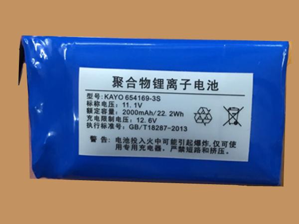 Batterie interne KAYO654189-3S
