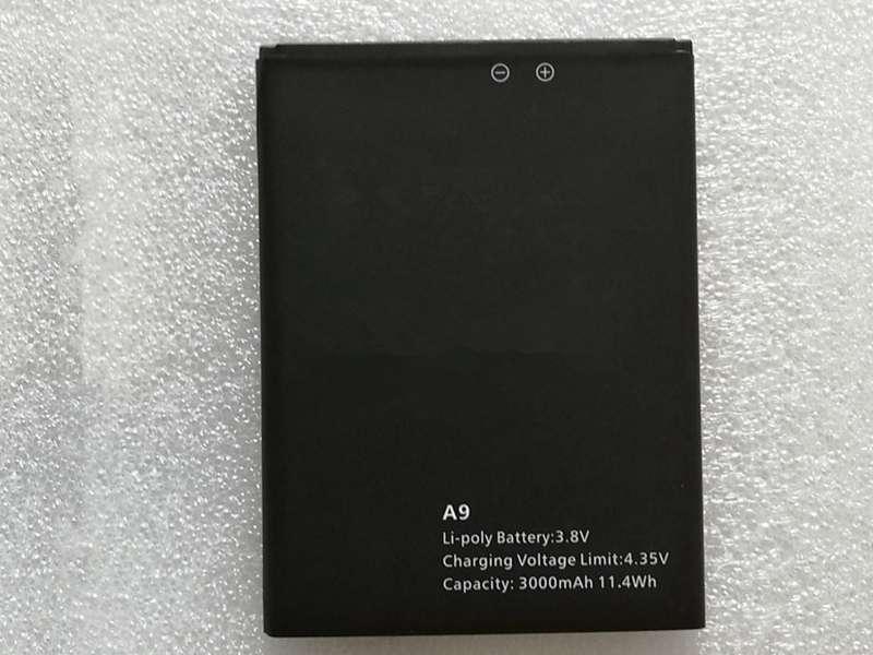 Batterie interne smartphone A9