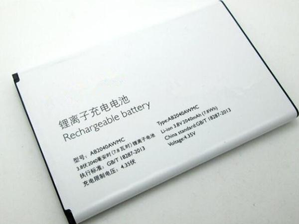 Batterie interne smartphone AB2040AWMC