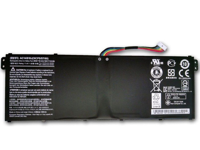 Batterie ordinateur portable AC14B18