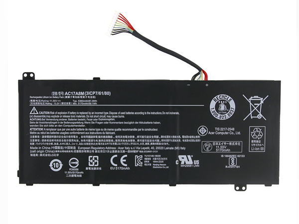 Batterie ordinateur portable AC17A8M