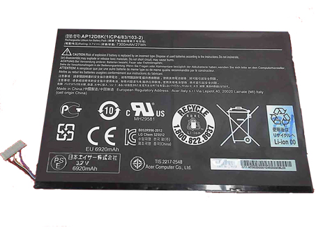 Batterie ordinateur portable AP12D8K