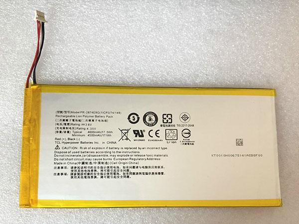 Batterie interne tablette PR-2874E9G