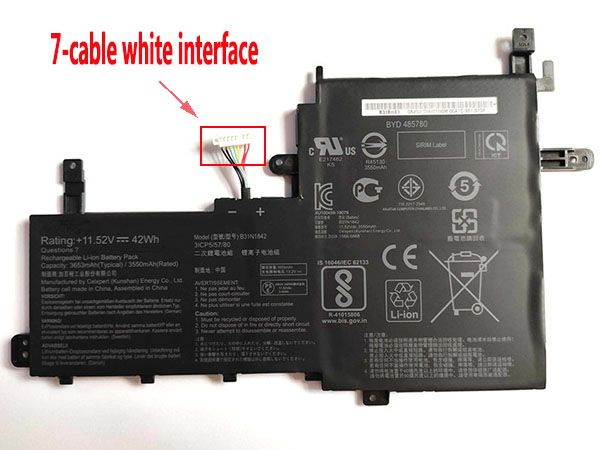 Batterie ordinateur portable B31N1842