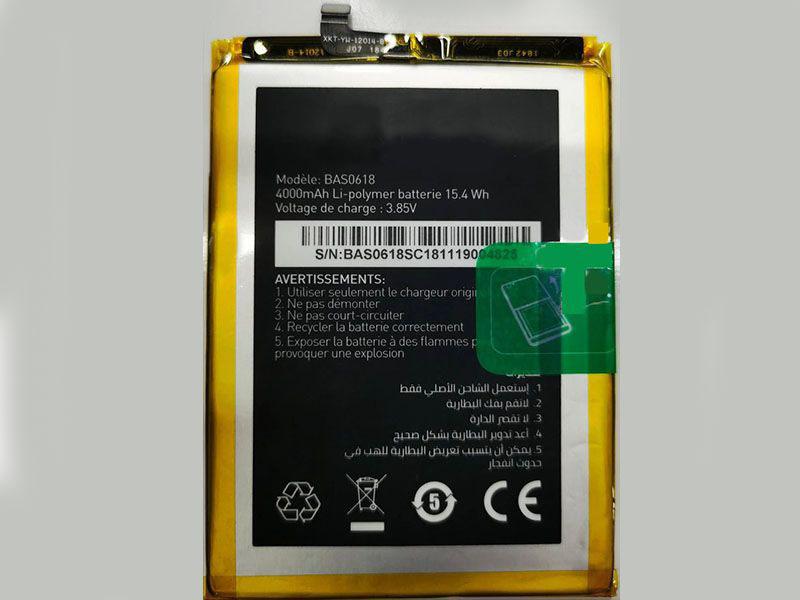 Batterie interne smartphone BAS0618