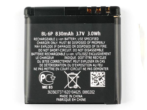 Batterie interne smartphone BL-6P