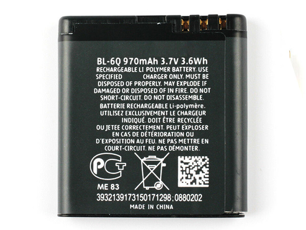 Batterie interne smartphone BL-6Q