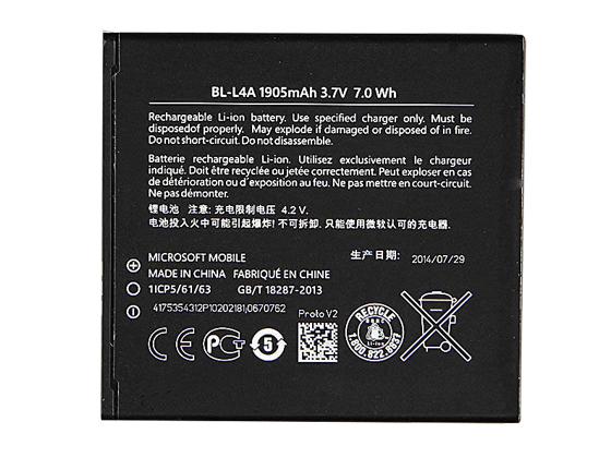Batterie interne smartphone BL-L4A