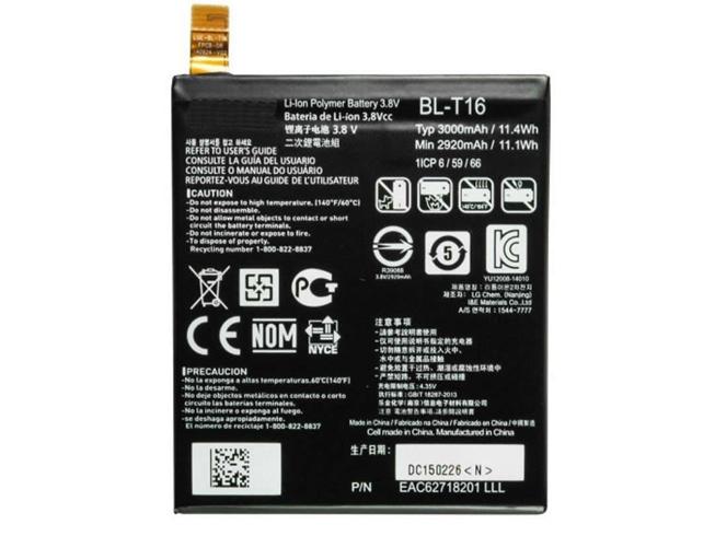 Batterie interne smartphone BL-T16