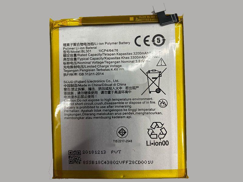 Batterie interne smartphone BL301