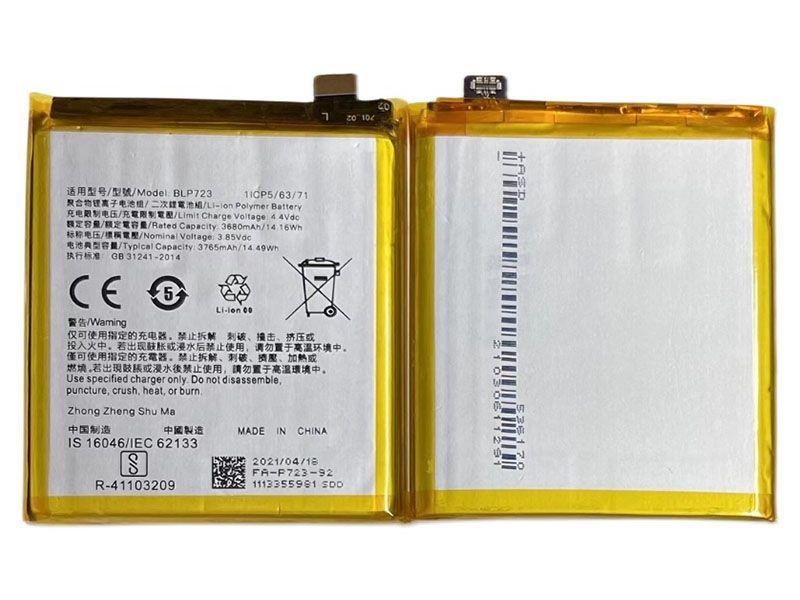 Batterie interne smartphone BLP723