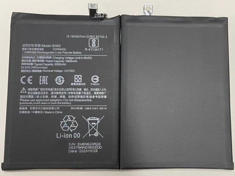 Batterie interne smartphone BN62