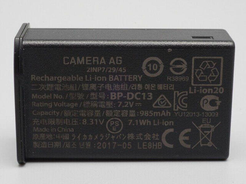 Batterie interne BP-DC13
