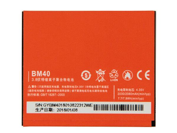 Batterie interne smartphone BM40