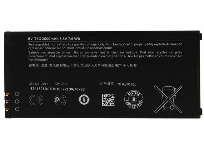 Batterie interne smartphone BV-T3G