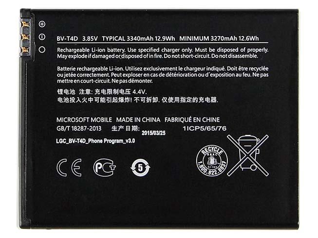 Batterie interne smartphone BV-T4D