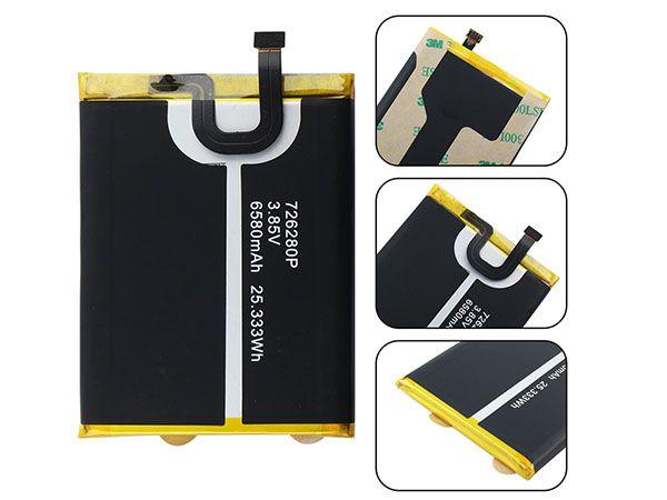 Batterie interne smartphone 726280P