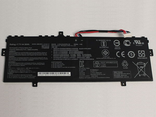 Batterie ordinateur portable C21N1717