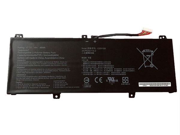 Batterie ordinateur portable C22N1626