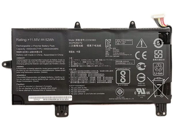 Batterie ordinateur portable C31N1803