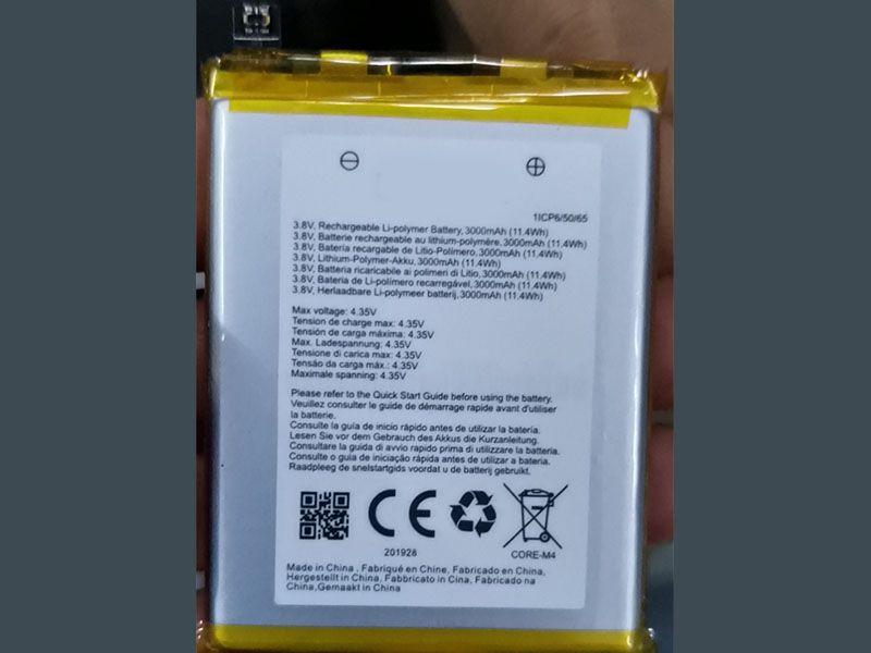 Batterie interne smartphone CORE-M4