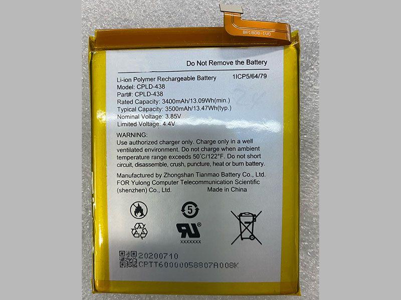 Batterie interne smartphone CPLD-438