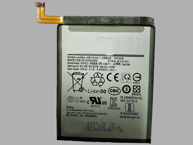 Batterie interne smartphone EB-2CXXXXXXX